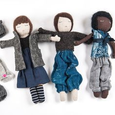 Kathryn Davey: Handcrafted Cloth Doll   #MarthaStewartAmericanMade  #americanmadeebaysweeps