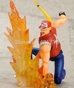 96.96$  Buy here - http://alirdw.worldwells.pw/go.php?t=32293603553 - king of fighter KOF brinquedos meninos bogard terry movable pvc Action Figure Collectible Toys for kid boy