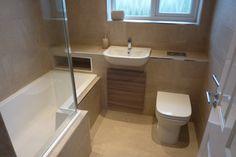 Bathroom Design Decor, Bathroom Decor Luxury, Bathroom Inspiration Modern, Bathroom Tub Shower Combo, Small Bathroom Layout, Bathroom Interior, Bathroom Plans, Tub Shower Combo, Large Tile Bathroom