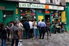L'as du Fallafel, Le Marais, Paris