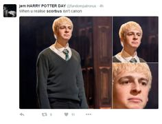 Just because they didn't get together aged 14 doesn't mean they won't in the next 100 years of their lives. Clearly it was written as a romance. Harry Potter Ships, Harry Potter Universal, Harry Potter Fandom, Harry Potter Memes, Scorpius And Albus, Anthony Boyle, Hogwarts Mystery, Fantastic Beasts And Where, Cursed Child
