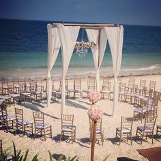 This is perfect for allowing all guests to have a wonderful view #NowSapphireRivieraCancun #Mexico #DestinationWedding