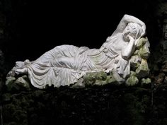 This 'Nymph of the Grot' figure was purchased around 1751. It is based on the Vatican Ariadne, originally described as a Cleopatra.