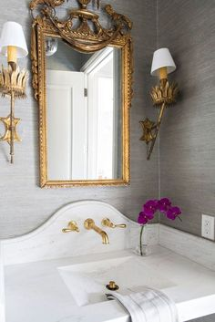 Powder Rooms: Design Tips for Small Bathrooms - BetterDecoratingBibleBetterDecoratingBible