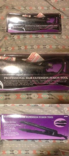 Wig and Extension Supplies: Professional Cold Fusion Extension Hair Tool BUY IT NOW ONLY: $40.0