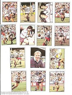 Rugby League NRL Cards 25583: 1983 Rugby League Stickers - Manly Sea Eagles -> BUY IT NOW ONLY: $100 on eBay!