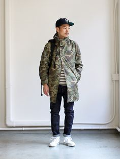 The North Face Purple Label Hyvent Mountain Field Coat