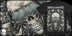 """Megadeth: MD13"" t-shirt design by Cryface666"