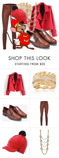 """""""Timothy Mouse"""" by fabulousgurl ❤ liked on Polyvore featuring Michael Aram, Cole Haan, rag & bone, NIKE, Disney, Alexander McQueen, disneybound and Dumbo"""