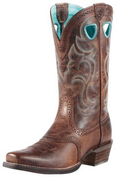 Ariat Rawhide Cowgirl Boots - Square Toe available at #Sheplers