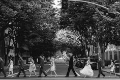 @Samantha Quick: This is the Abbey Road shot I thought would've been so cool to do when we crossed the street at your wedding!