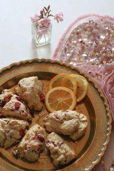 Recipe: Cranberry Orange Tea Scones