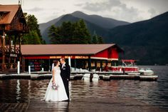 There's nothing quite like saying forever at the #lake! Get #married highway west style. Each of our locations specialize in unique #wedding & group rates, facilities and catering!