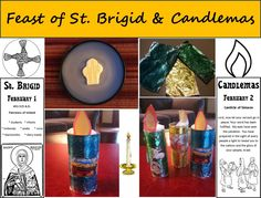 Fest of St. Brigid and Candlemas Godly Play, St Brigid, Catechist, All Saints Day, Catholic Saints, Epiphany, Free Coloring, Free Printables, Diy And Crafts