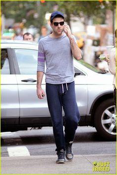 Celeb Diary: Zachary Quinto in New York