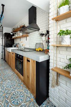 Cuisine o trouver des meubles ind pendants en bois brut ou trouver bois - Meubles cuisine independants ...
