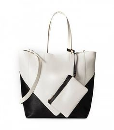 Who What wear Modern Blocked Tote