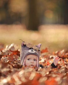 Leaf Head by xstartxtodayx, via Flickr