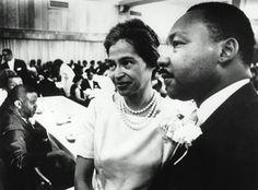Rosa Parks and MLK Jr