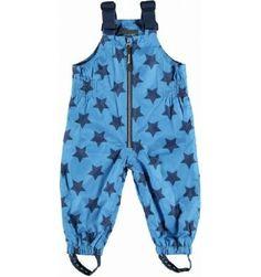 Vauvanvaatteet - Racoon välikausihousut vauvalle sininen