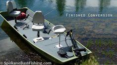 (HD) Jon Boat to Bass Boat Conversion ( Modification Project )