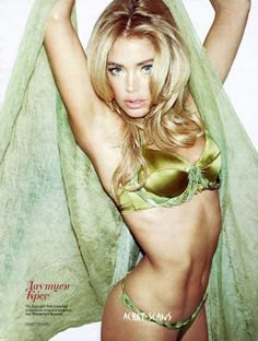 Green with envy  #gorgeous #model #lingerie #green #silk
