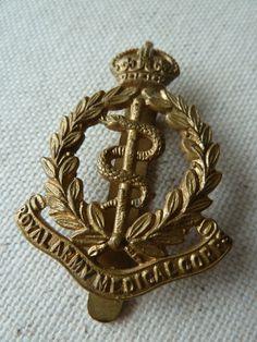 British Army Medical Regiment Cap Badge