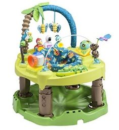Evenflo Exersaucer Triple Fun Active Learning Center is a good choice because it does not carry with it the risk of a traditional baby walker Activity Centers, Learning Centers, Learning Activities, Play Activity, Learning Music, Activity Board, Baby Exersaucer, Babies R Us, Tummy Time