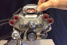 Miniature V8. How freakin' awesome?