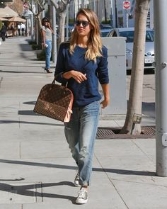 Jessica Alba and Cash Warren Head to Lunch