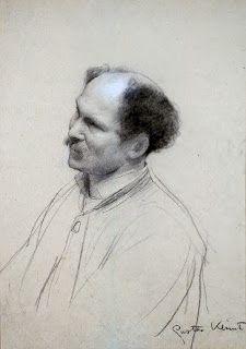 Gustav Klimt Self-Portrait / repinned on Toby Designs
