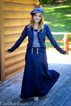 Looking for Modest designs for teens? Follow her at freshmodesty.com