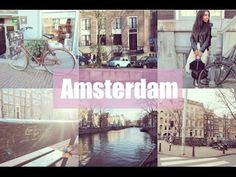 Anne Frank House and Fault In Our Stars Bench | Amsterdam Day 1 | Aine's...