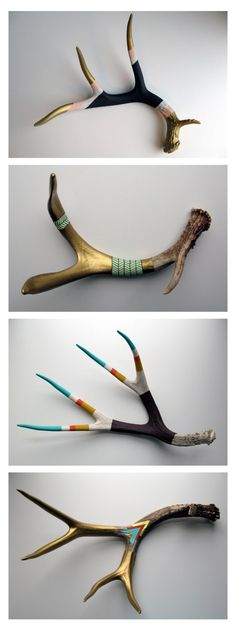 Painted antlers                                                                                                                                                                                 Plus