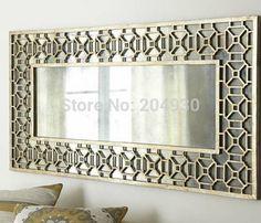 MR-2Q0139 Pebbles frame wall mirror decorative