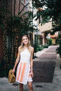 Little Blonde Book A Fashion Blog by Taylor Morgan: Summer Halter Dress