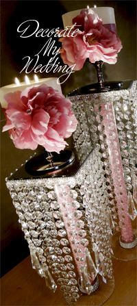 45 Super Ideas For Wedding Decorations Diy Centerpiece Sands Crystal Centerpieces, Party Centerpieces, Diy Wedding Decorations, Wedding Pins, Trendy Wedding, Wedding Table, Wedding Card, Elegant Wedding, Wedding Events