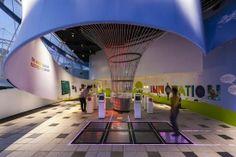exhibit technology | 22>Technology/Innovation / MET Studio created the EDF brand experience ...