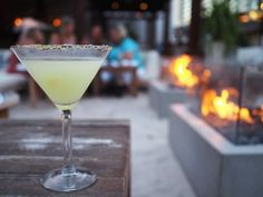 My favourite places to eat and drink in Waikiki   Tommy Bahama Rooftop Bar Waikiki Hawaii   Lemon Drop Martini by Kirsten and co.