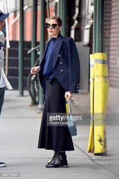 Olivia Palermo seen out in Manhattan on May 26 2017 in New York City Olivia Palermo Street Style, New York Street Style, Work Fashion, Fashion Looks, Fashion Design, Women's Fashion, Street Fashion, Business Outfits, Business Fashion