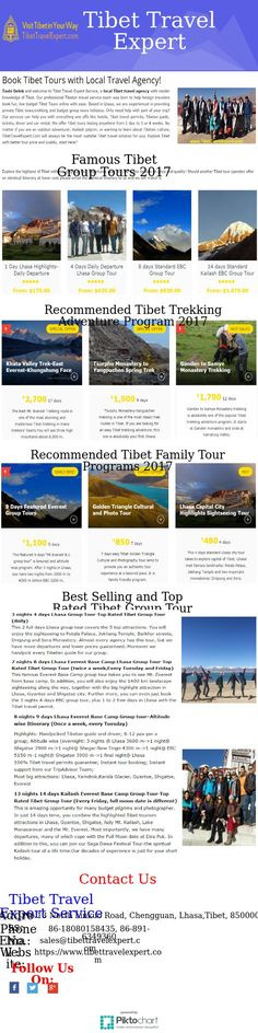 Tibet Travel Agency  The Tibet Group Tours have frequent departures at various places of interest. It encourages more people of different age groups and interest to undertake these group activities to suit their personal choices, as diverse departure dates are available to the travelers.
