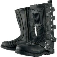 Icon One Thousand Elsinore Boots Johnny Black. #MOBstyle #MOBrules
