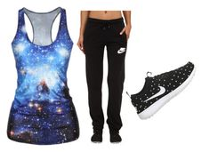 """Untitled #4"" by brieatddancer on Polyvore featuring NIKE"