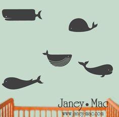 Nautical themed nursery