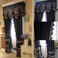 Black Curtains Sale