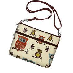SALE iPad Case iPad Handbag New iPad Cover Womens iPad Bag with Strap, 3 Pockets, iPad 4 3 2 1 Cover Cute Owl Brown Blue Rust on Etsy, $35.99