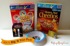 Big G Prize Pack. Head over to the Frugal Free Gal.com blog for a chance at winning a Big G Cereal Pack.