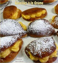 recettes: desserts: Gosettes à la Crème