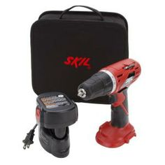 Are you having trouble finding a gift for that special DIYer of yours? They'll love this Skil 14.4 Volt Drill/Driver with Battery! #homedepot...I actually want a drill & stud finder