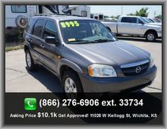 2002 Mazda Tribute LX-V6 SUV   Clock: In-Radio Display, Am/Fm Stereo, Colored Bumpers, Center Console: Partial With Covered Storage, Cargo Tie Downs, Wheel Diameter: 16,